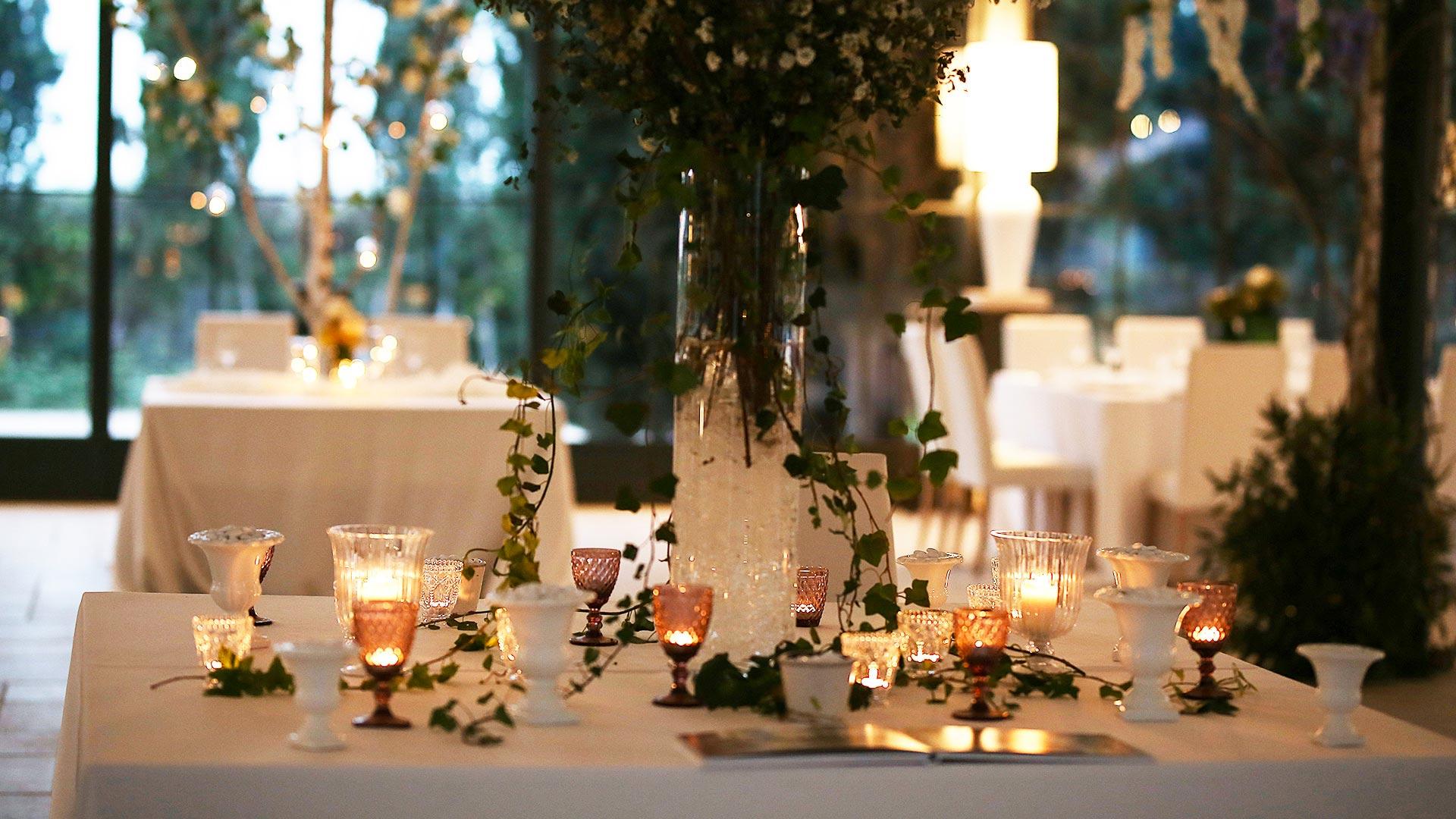 matrimonio in primavera allestimento sala