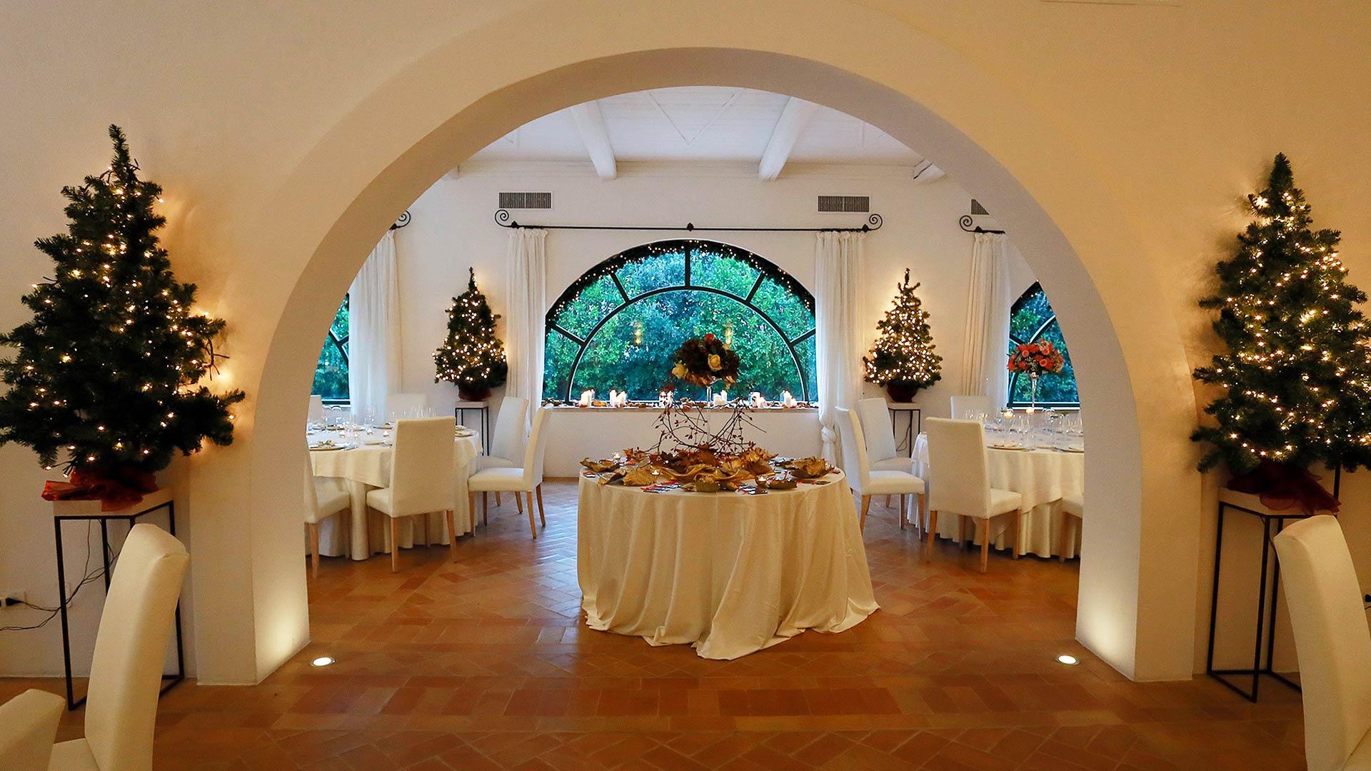 matrimonio invernale sala