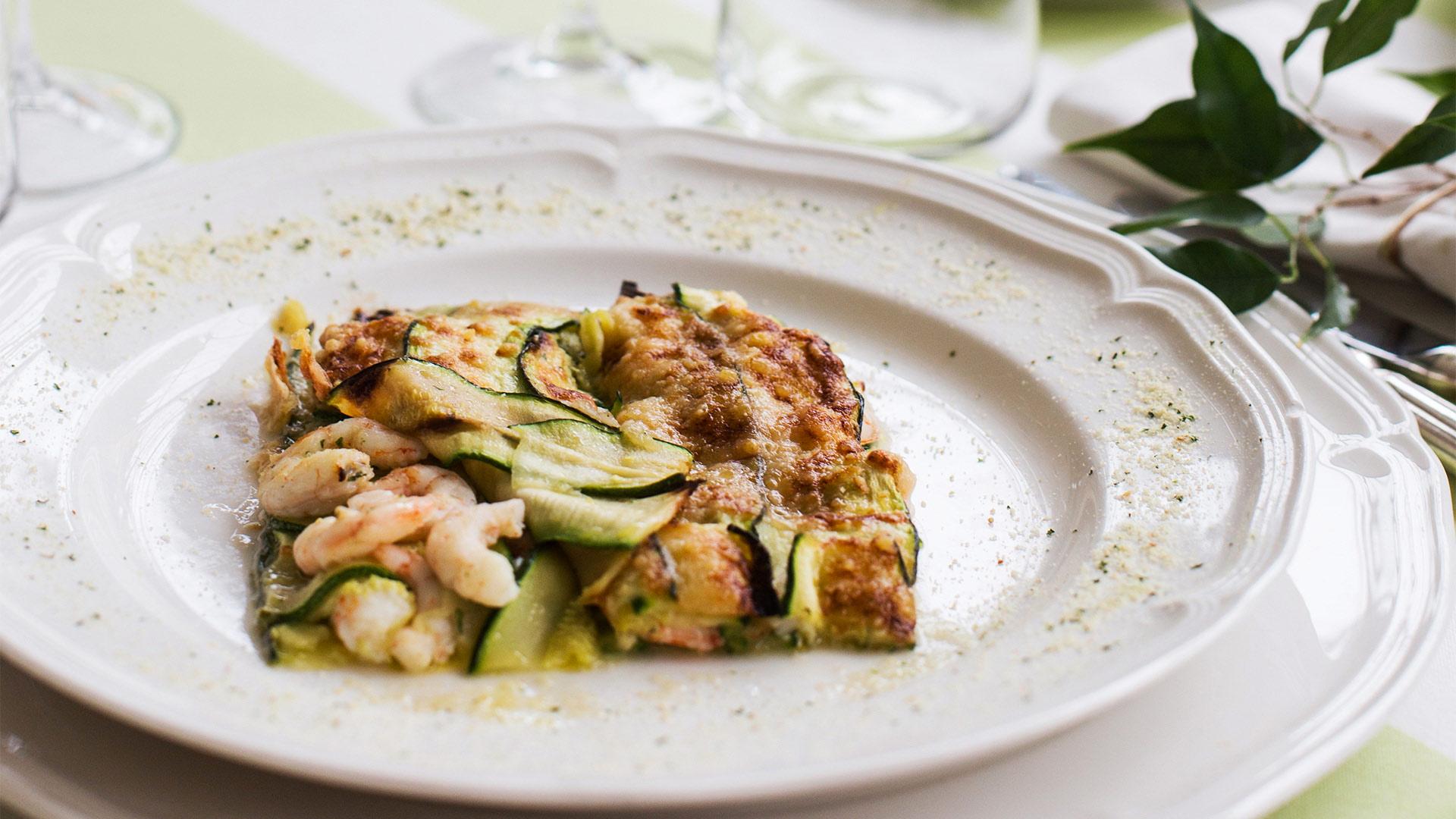 piatti tipici della puglia zucchine gamberetti menu matrimonio