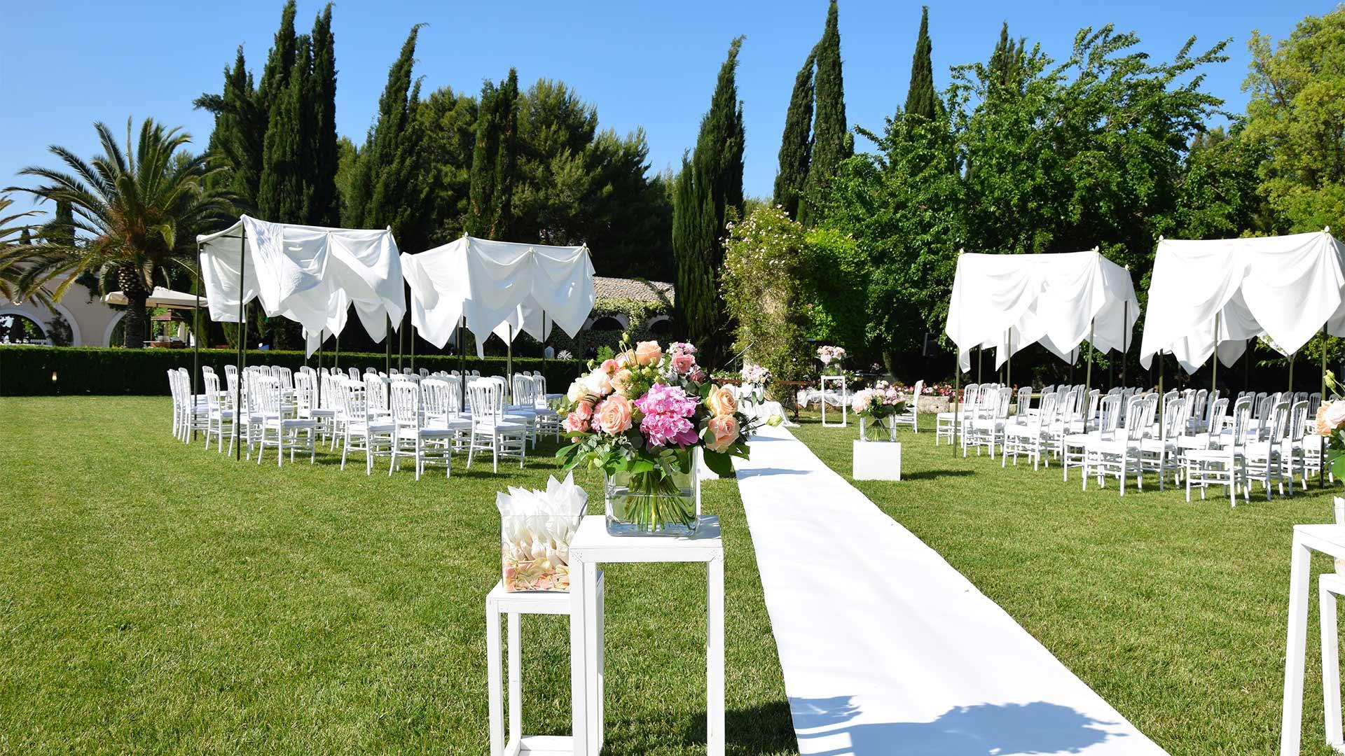 rito civile matrimonio addobbi