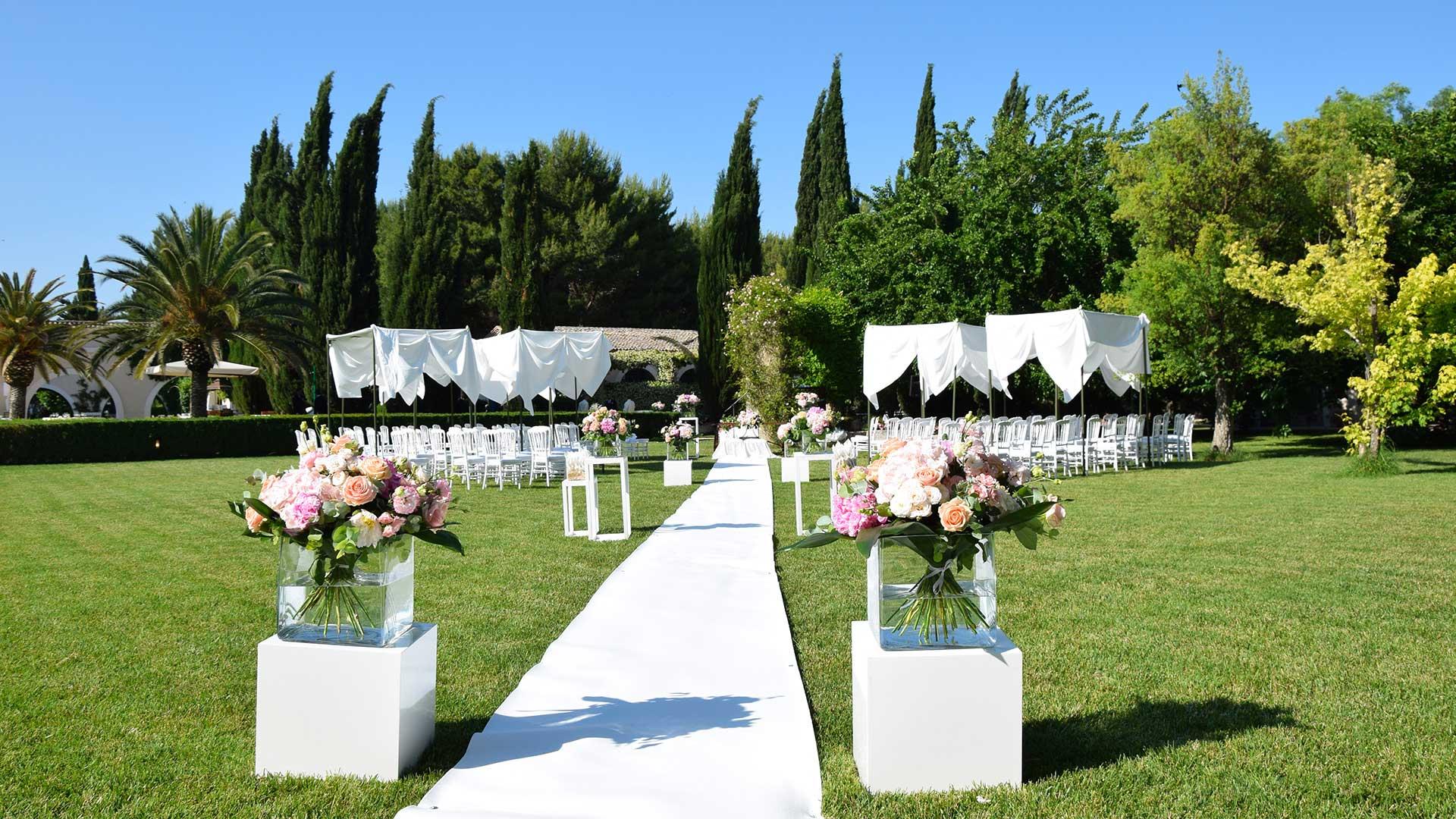 rito civile matrimonio fiori