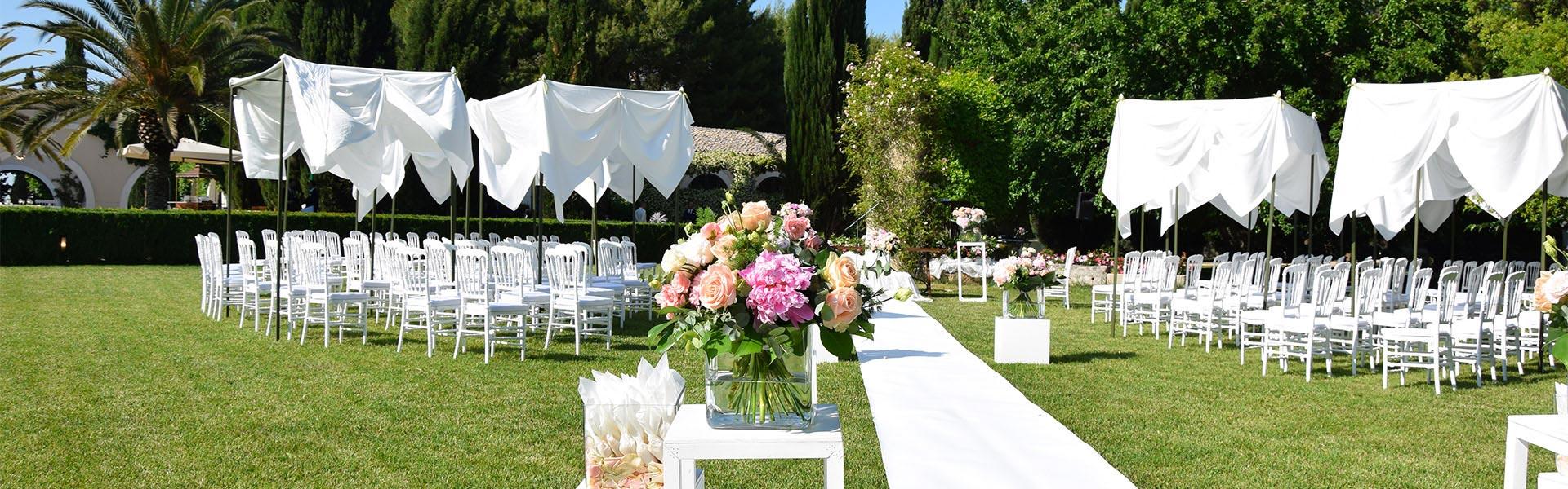rito civile matrimonio giardino
