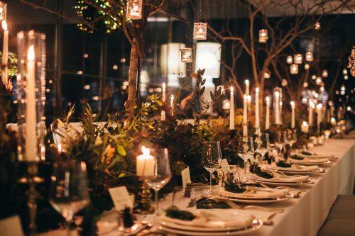 disposizione tavoli matrimonio natale