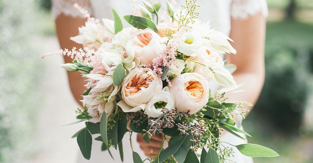 bouquet da sposa raccolto