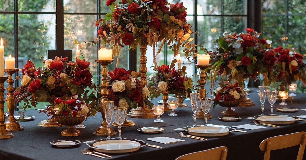matrimonio in autunno allestimento