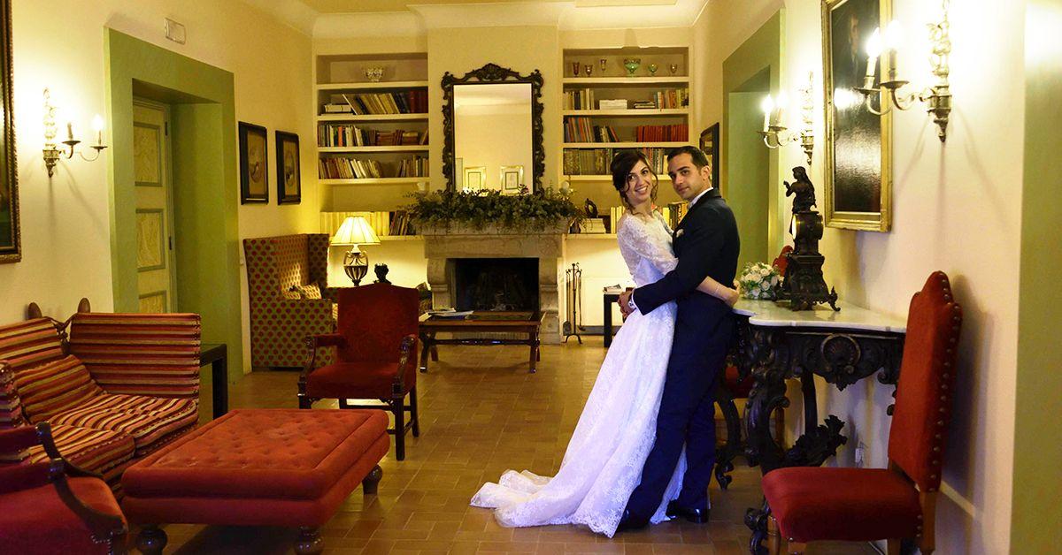 matrimonio in una dimora storica